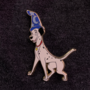 Characters in Sorcerer Hat- Pongo pin