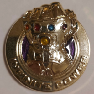 Infinity Gauntlet - Infinite Power pin
