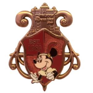 WDW Annual Passholder 2016 Quarterly - Park Shields - Minnie at Hollywood Studios pin