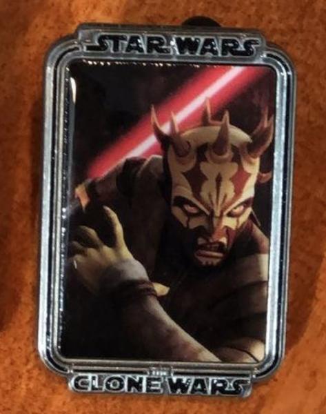 Savage Opress Clone Wars Mystery Portrait pin