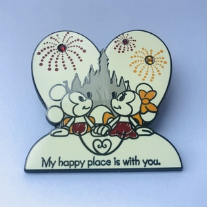 Mickey and Minnie happy place pin