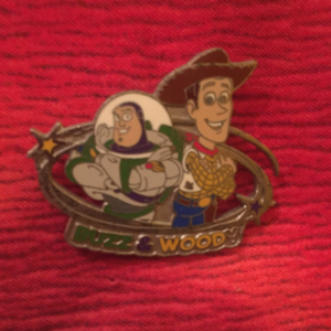 Buzz and Woody DLP Starter pin