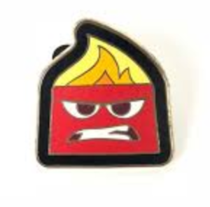 Anger - Inside Out Booster pin