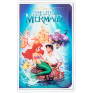The Little Mermaid VHS cover pin