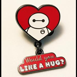 Baymax - Would You Like a Hug?  pin