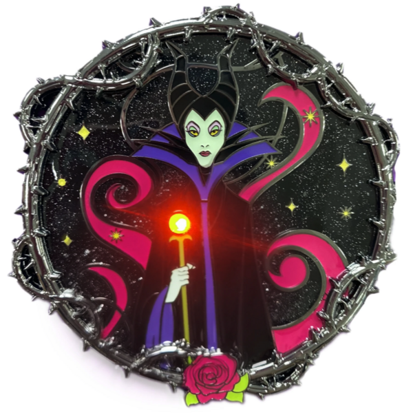 Maleficent - Throne of Thrones - Loungefly pin