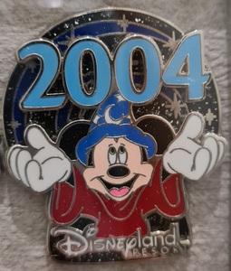 Sorcerer Mickey 2004 pin on pin pin