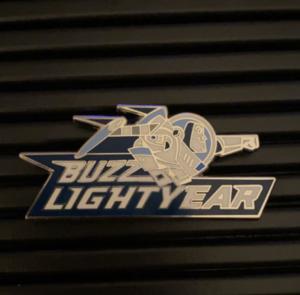 Buzz Lightyear Fantasyland Football pin