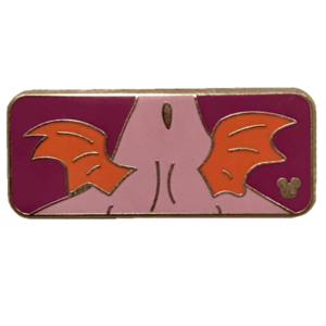 Figment Collection (1 of 5) Two Tiny Wings pin