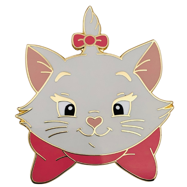 Marie - Madame Catspurrr - Aristocats heads pin