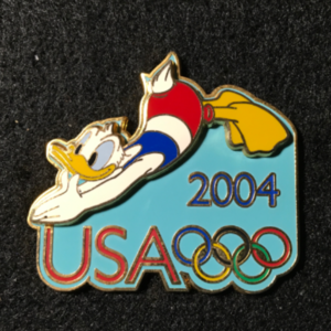 USA 2004 Olympic cast exclusive Diving pin