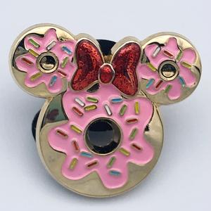 Minnie Mouse donut/doughnut pin