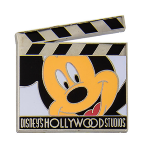 Mickey Mouse clapper board pin