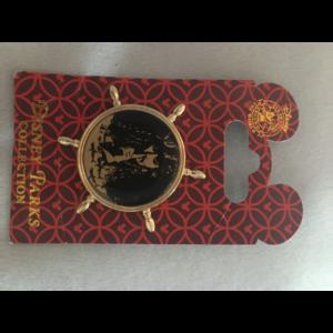 Pirates of the Caribbean - Captain Jack Sparrow wheel pin