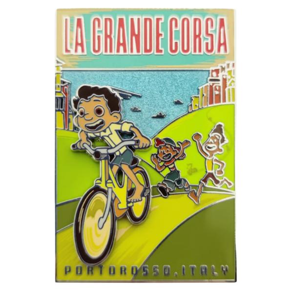 Luca ''La Grande Corsa'' Pin – Limited Release pin