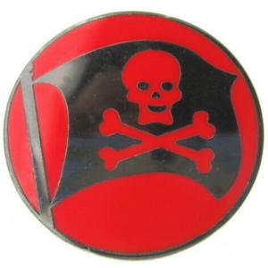 Pirates Flag - 2011 Park Icons - Mini-Pin Collection pin