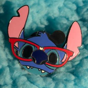 Stitch Nerd pin