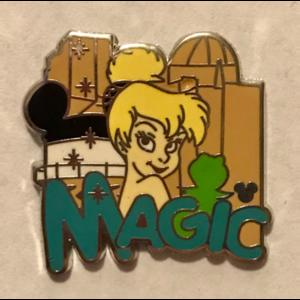 Disneyland Resort Hotel Hidden Mickey - Hotel HM - Tinker Bell MAGIC pin