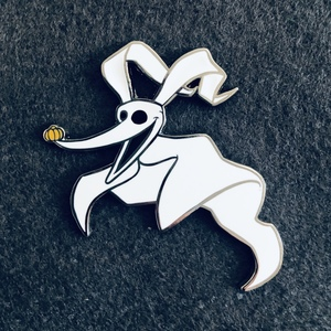 Zero Ghost Dog pin