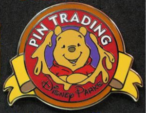 Winnie the Pooh (Color) - Keep on Trading Mystery Collection pin