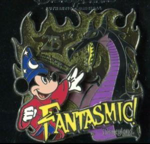DLR - Fantasmic 25th Anniversary pin