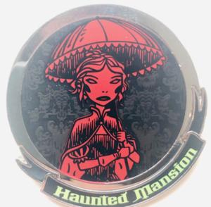 Haunted Mansion Bride pin