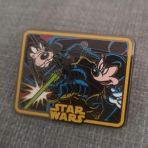 Mickey & Goofy Star Wars pin