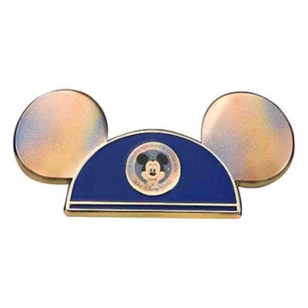 Iridescent Mickey Mouse Club ears - Walt Disney World 50th Anniversary pin