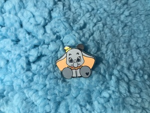 Dumbo - Hidden Mickey Big Feet pin
