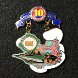 Pin Trading 10th Anniversary Tribute 20000 Leagues  pin
