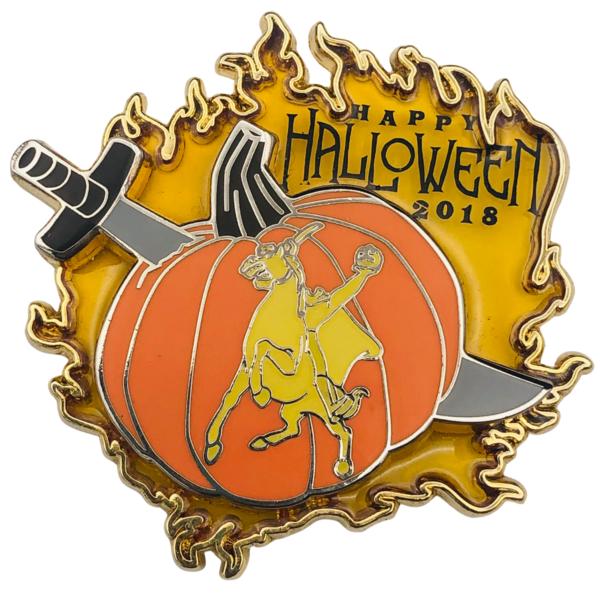 Happy Halloween 2018 - Headless Horseman - Annual Passholder DLR pin