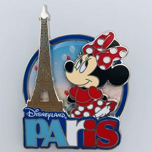 Disneyland Paris Minnie Eiffel Tower pin