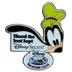 Goofy Disney Secret DVC pin
