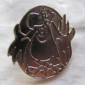 Iago Hidden Mickey (Chaser) pin