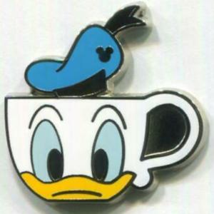 Donald Duck Teacup - Hidden Mickey pin