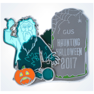 Gus Haunting Halloween 2017 pin