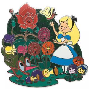 Alice in Wonderland family pin pin