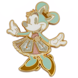 Minnie Mouse Carrousel Main Attraction pin