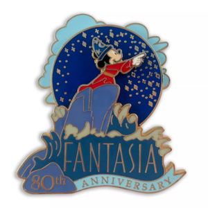 Fantasia 80th Anniversary Sorcerer Mickey pin