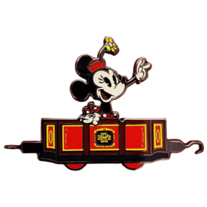 Minnie Mouse Pin – Mickey & Minnie's Runaway Railway – Limited Release pin