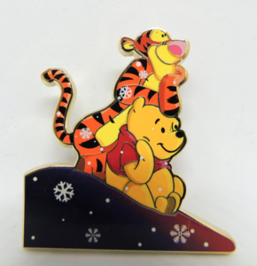 Tigger and Pooh Snow Pals Artland pin