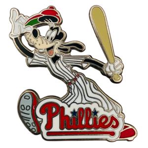 MLB Philadelphia Phillies - Goofy with bat pin