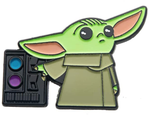 Amazon Exclusive Grogu At The Command Terminal pin