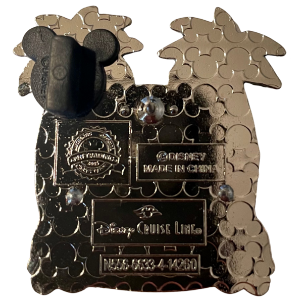 2015 Castaway Cay - Disney Cruise Line pin
