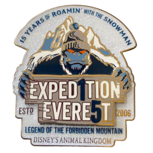 Expedition Everest 15th Anniversary pin