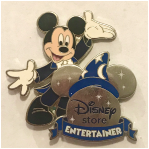 Disney Store Entertainment - Cast Exclusive pin