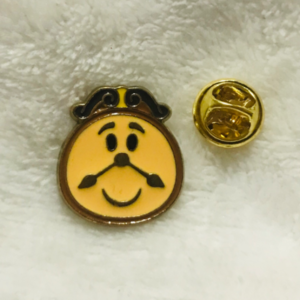 Cogsworth emoji  pin