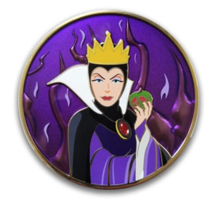 Artland - Evil Queen - Villain Series pin