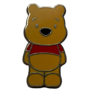 Mini Winnie the Pooh - chibi style pin