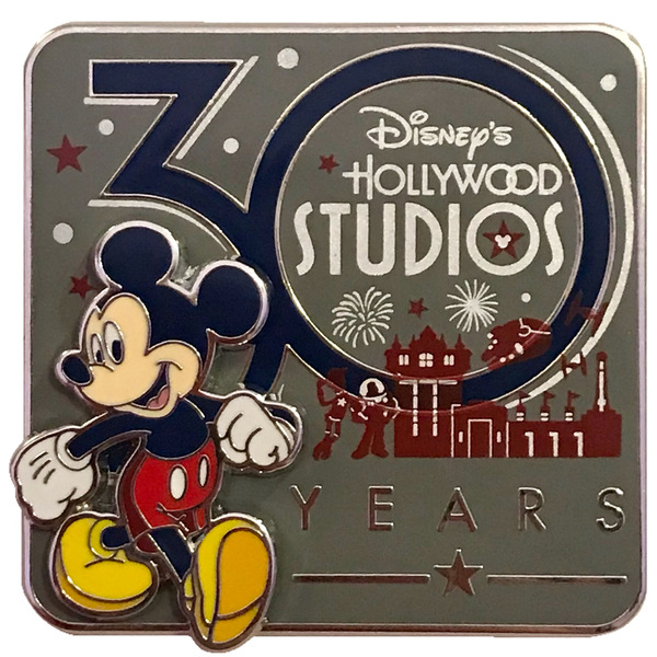 Disney's Hollywood Studios 30th Anniversary Panoramic Silhouette pin